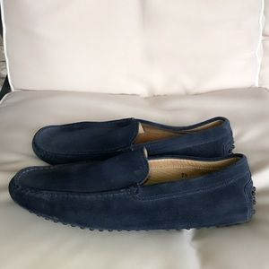 Authentic Tod's suede GOMMINO DRIVING SHOES 7.5